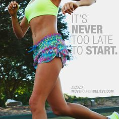 its never too late