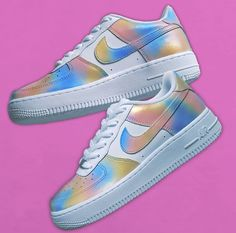 What would you call these custom painted cotton candy colored Nike air Force 1's done by @sq_customs #nike #airforce1 #nikeaf1 #nikes #sneakers #shoes #fashion #sneakerpaint #custom #customsneakers #sneakerart #art #fashion #womensfashion #mensfashion #style #celebrity #streetwear #hypebeast #cottoncandy visit www.customizerdepot.com for tutorial videos, products and more content