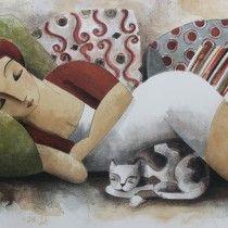 #litografia Lourenço Didier en totart.cat Pillows 60 x 86 cm