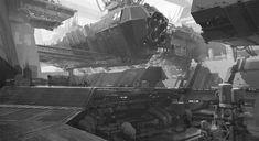 concept ships: Concept ships and environments by Carlo Balassu