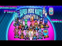 DCGamerX's Mini-Adventure: DCGamerX Plays Super Indie Karts 100cc