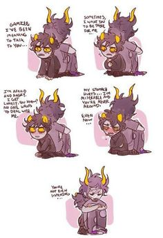 GAMZEE MAKARA!! YOU WAKE UP AND YOU HUG HIM UNTIL HE EXPLODES. //NOW.//