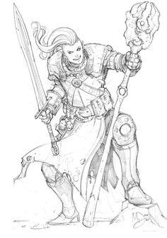 Elf+Battle+Mage+by+Max-Dunbar.deviantart.com+on+@DeviantArt