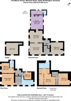 5 bedroom house for sale in Warwick Road, Upper Boddington, Daventry - Rightmove. Warwick School, Flagstone Flooring, Inglenook Fireplace, Multi Fuel Stove, Wooden Gates, 5 Bedroom House, Georgian Homes, Open Plan Kitchen, Private School