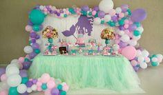 6th Birthday Girls, Little Mermaid Birthday, 13th Birthday Parties, Little Mermaid Parties, Birthday Fun, Mermaid Party Decorations, Birthday Decorations, Mermaid Baby Showers, Baby Party