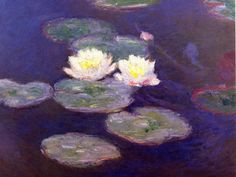 monet | Claude Monet nilufer-yapraklari