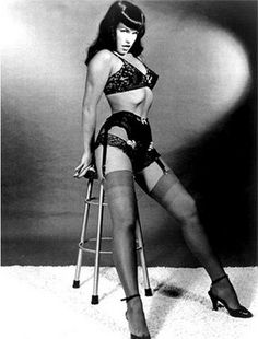 Betty Page. obvs.