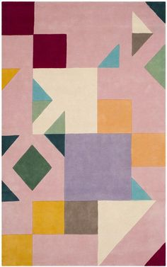 Rug Details Construction: Hand Tufted Fiber Content: Wool Style: Contemporary