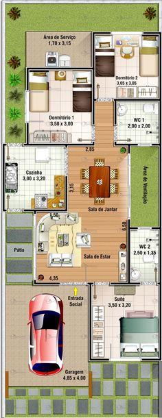 Công ty xây dựng Thanh Niên giới thiệuMẫu thiết kế nhà cấp 4 với 3 phòng ngủ 8x20m. Mẫu thiết kế kiến trúc nhà đẹp 1 tầng 3 phòng ngủ 8x20m...