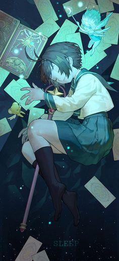 主人公の少女・木之本桜が父の書斎で見つけた、美しいカードが収められた1冊の本。桜がその本を開いたことで、封印が解けた魔法のカード「クロウカード」が、街に散らばってしまいます。桜は、本の中から現れた封印の獣・ケルベロスや、親友の大道寺知世と一緒に、クロウカードが起こす事件を解決しながら、大きな運命に巻き込まれていきます。  1996年から2000年にかけて連載されたCLAMPの漫画「カードキャプターさくら」が、今年20周年を迎えました。本日は、可愛らしいコスチュームやキャラクターが今も女性の心を掴んで離さない「CCさくら」のイラストを特集しました。それではご覧ください。