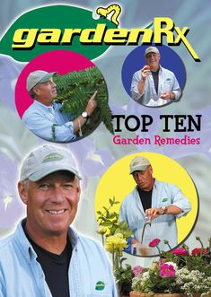 PBS-TV's GardenRx, the perfect prescription for what ails your lawn and garden, the natural, old fashion organic way without nasty chemical pesticides and fertilizer.  The GardenRx method is easy, fun and guaranteed to say you time and money!