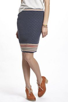 Dotted Jacquard Sweater Skirt - Anthropologie.com