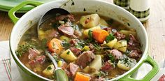 Perhaps a national dish of Wales because it uses fantastic (and famously) Welsh ingredients – lamb and leeks – Cawl …