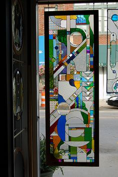 Mosaic stained glass window outdoor art quilt more mosaics glass dichroic stained glass full door abstract 1e by dichroglassman planetlyrics Gallery