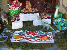 Dinosaur Party Tabletop Idea