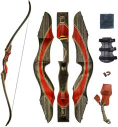 SinoArt Takedown Recurve Bow Archery Right & Left Hand Riser Bow (Right Hand, Archery Lessons, Archery Tips, Archery Set, Takedown Recurve Bow, Recurve Bows, Traditional Recurve Bow, Traditional Bow, How To Drow, Recurve Bow Hunting