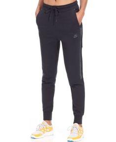 19d7c7d0b9c5 Nike Tech Fleece Sweatpants   Reviews - Pants   Capris - Women - Macy s