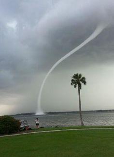 Waterspout, Oldsmar, FL
