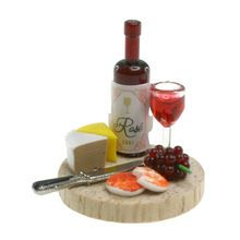 Sparrow Innovations Miniatures Wine, Cheese-Michaels