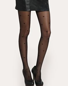 heart tights- I had some white & red ones like this when I was a youngin'
