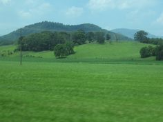 Land of my ancestors - Madison County, VA,  in the foothills of the Blue Ridge Mts.