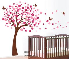 Wall Decals Cherry Blossom Tree wall decals by coolgraphicss