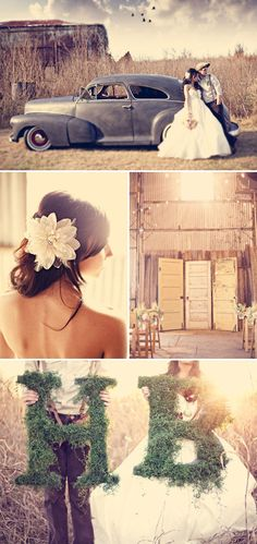 I am absolutely in LOVE with this Wedding!!! Click through to their page...it's AH-MAZ-ing...Perfection!!!!