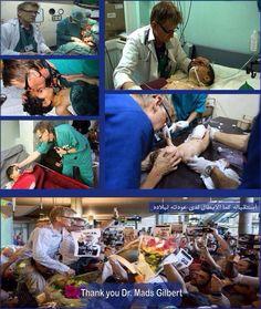 dr.mads gilbert BE HUMAN. SAVE HUMANITY.