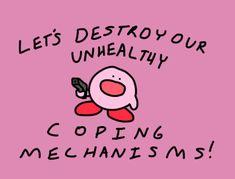 Kirby Memes 385550418101565181 - Source by KarleeMaddie Cute Memes, Funny Memes, Kirby Memes, Up Book, Wholesome Memes, Pretty Words, Stupid Memes, Mood Pics, Reaction Pictures