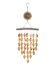 This Sun Leaf Hanging Décor is perfect! #zulilyfinds