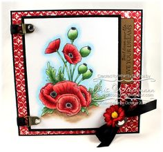 Summertime Blooms - Whimsy's Momas Collection  Paper Crafting in Cocoa