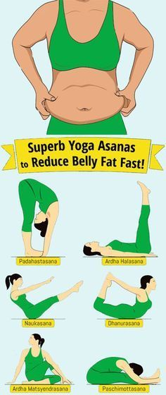 9 Superb Yoga Poses To Reduce Belly Fat Fast