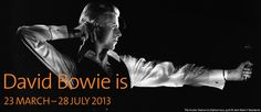 """David Bowie is""  Victoria and Albert museum present a retrospective of the extraordinary career of David Bowie. Already making plans to be there!"