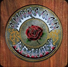 """AMERICAN BEAUTY""- Grateful Dead album cover"