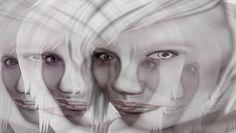 GIMP Digital Art, (Ghostly Fetish)  .