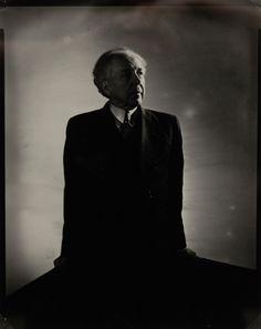 Frank Llyod Wright, 1932 by Edward Steichen Edward Steichen, Isadora Duncan, Edward Weston, Alfred Stieglitz, Portraits, Portrait Ideas, Whitney Museum, Cyanotype, Frank Lloyd Wright