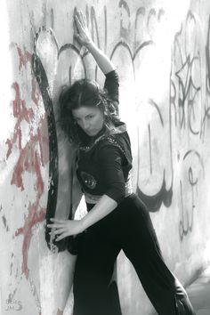Sesión exteriores con Diana, bailarina y coreógrafa