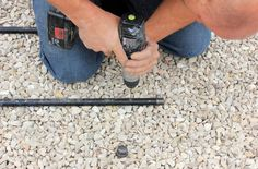Outdoor-Fire-Pit-Drilling-Holes-in-Pipe