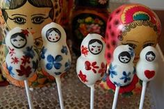 Russian doll Pop Cakes!!