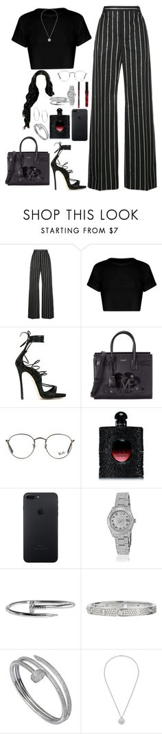 """Untitled #529"" by princessnyaaa ❤ liked on Polyvore featuring Balenciaga, Dsquared2, Yves Saint Laurent, Ray-Ban, Rolex, Cartier, Gucci and Michael Kors"