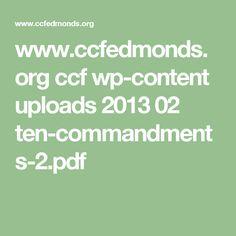 www.ccfedmonds.org ccf wp-content uploads 2013 02 ten-commandments-2.pdf