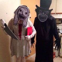 Welp. Found Taylor and I's halloween costume this year.
