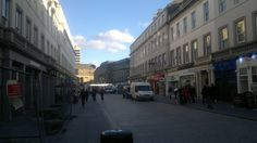 In Dundee city centre, March 2011.