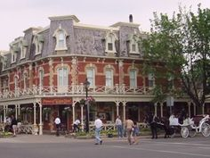 Niagara-on-the-Lake - Ontario - (near Niagara Falls)is one of the cutest, quaintest towns I have visited. A must see when going to the Falls....