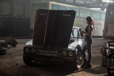 Michelle Rodriguez in Fast