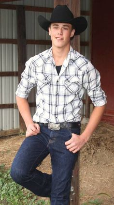 ♥ Cowboys and Country Boys ♥ Cowboy Outfit For Men, Cowboy Outfits, Country Outfits, Hot Country Men, Cute Country Boys, Country Style, Country Life, Country Living, Redneck Boys
