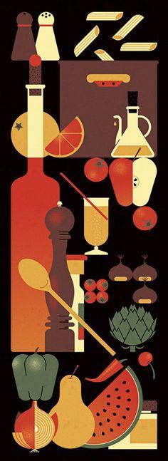 Kitchen Wall Panel - alconic — Andrea Manzati
