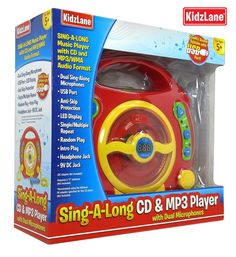 The NapTime Reviewer: Gift Idea: Kids Portable Sing Along CD, MP3 & USB Player