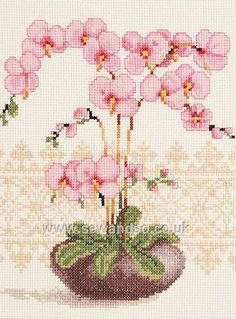 Shop online for Pink Orchid Cross Stitch Kit at sewandso.co.uk. Browse our great range of cross stitch and needlecraft products, in stock, with great prices and fast delivery.