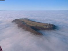 Would You Want to Land a Plane on This Airstrip Farrenberg, Germany.